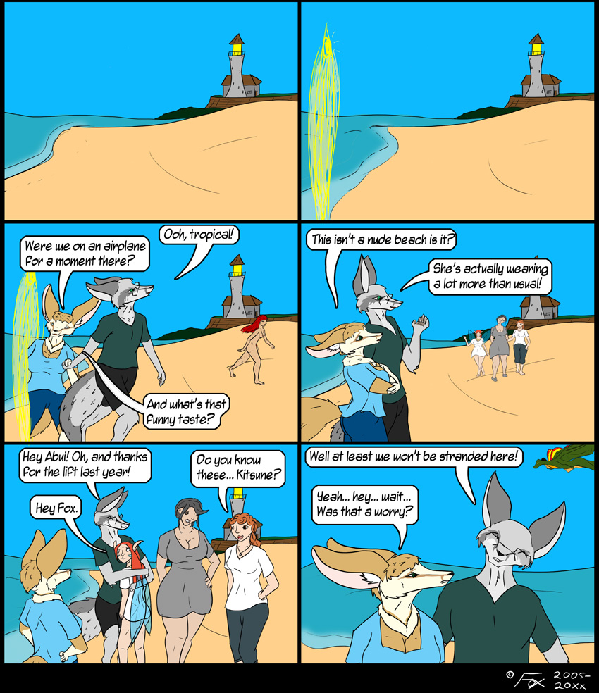 Fox's vacations do tend to get strangely complicated...